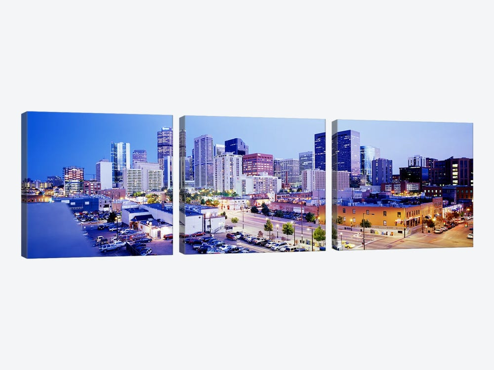 DenverColorado, USA by Panoramic Images 3-piece Art Print