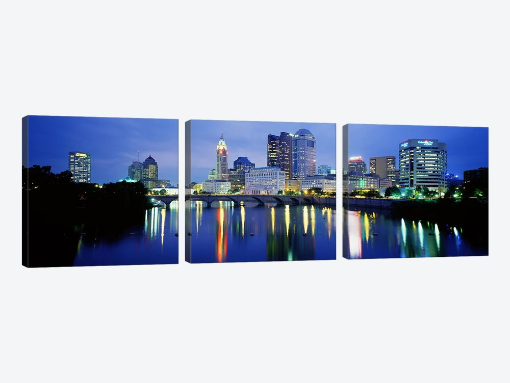 Columbus OH by Panoramic Images 3-piece Canvas Art