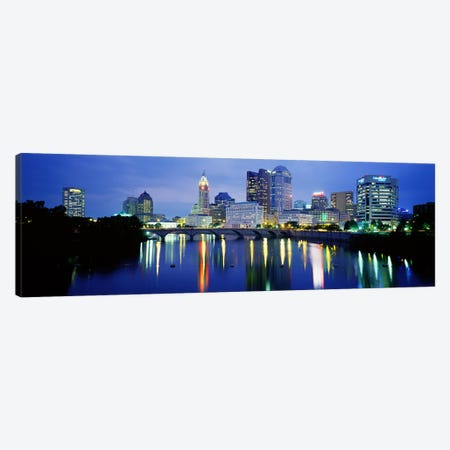 Columbus OH Canvas Print #PIM3653} by Panoramic Images Canvas Art Print