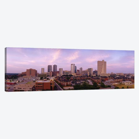 Skyscrapers in a cityFort Worth, Texas, USA Canvas Print #PIM3654} by Panoramic Images Canvas Art