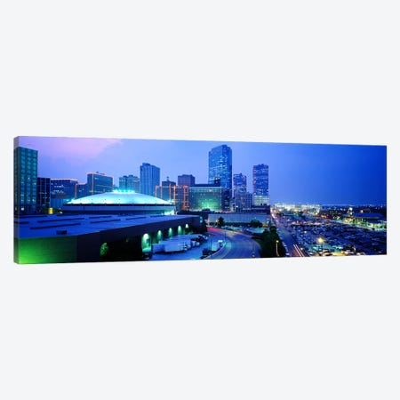 Downtown Skyline, Fort Worth, Texas, USA Canvas Print #PIM3657} by Panoramic Images Canvas Art
