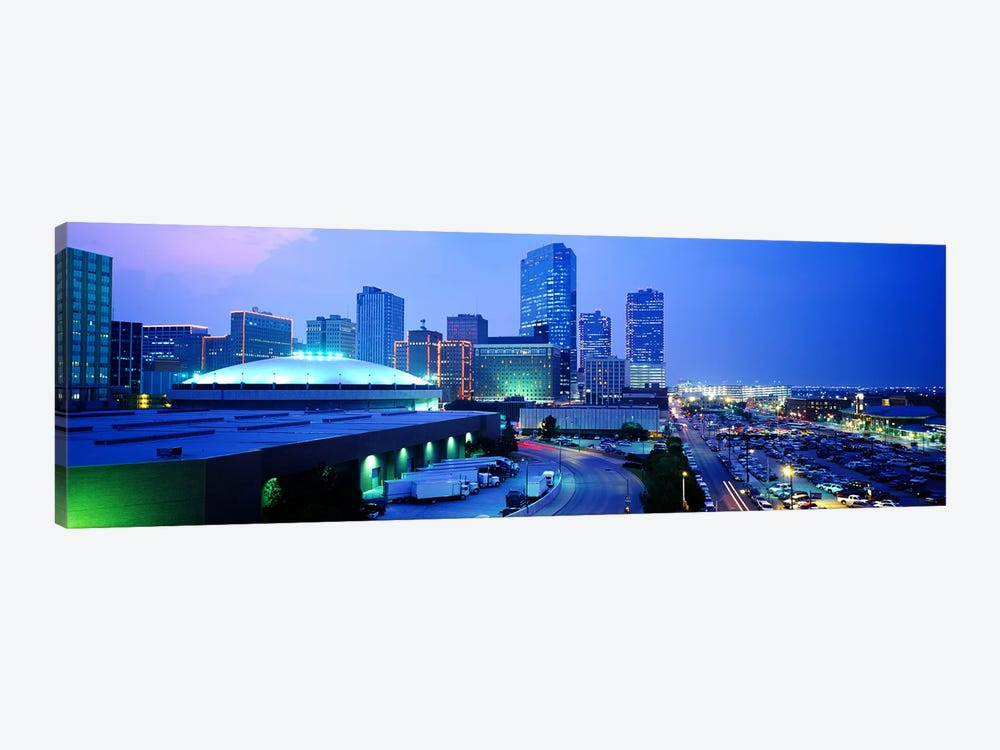 Downtown Skyline, Fort Worth, Texas, USA by Panoramic Images 1-piece Canvas Art