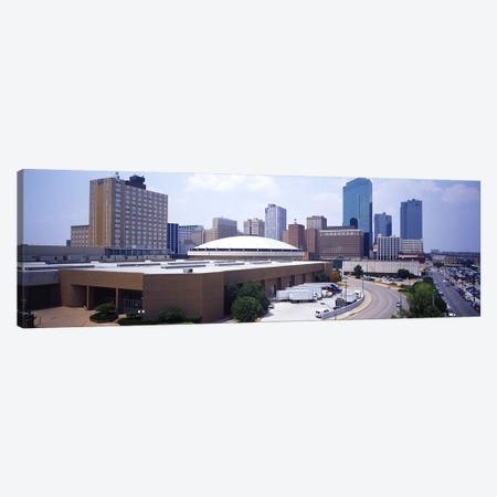 High Angle View of Office Buildings In A CityDallas, Texas, USA Canvas Print #PIM3658} by Panoramic Images Art Print