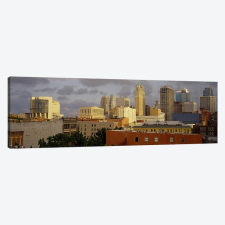 Buildings in a cityKansas City, Missouri, USA Canvas Print #PIM3659} by Panoramic Images Canvas Art Print