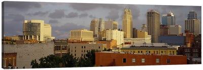 Buildings in a cityKansas City, Missouri, USA Canvas Print #PIM3659