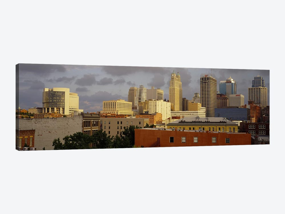 Buildings in a cityKansas City, Missouri, USA by Panoramic Images 1-piece Canvas Artwork
