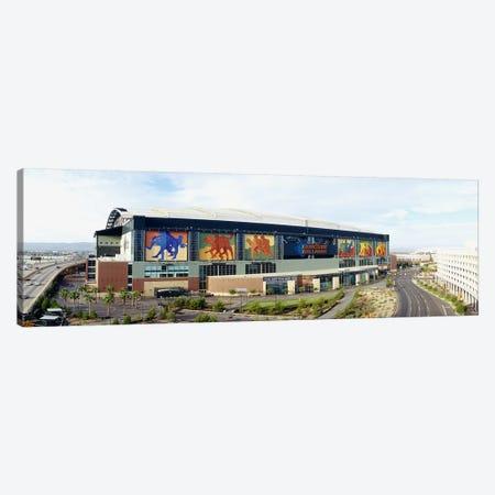 High angle view of a baseball stadiumBank One Ballpark, Phoenix, Arizona, USA 3-Piece Canvas #PIM3661} by Panoramic Images Canvas Wall Art