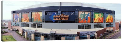 Bank One Ballpark Phoenix AZ Canvas Art Print