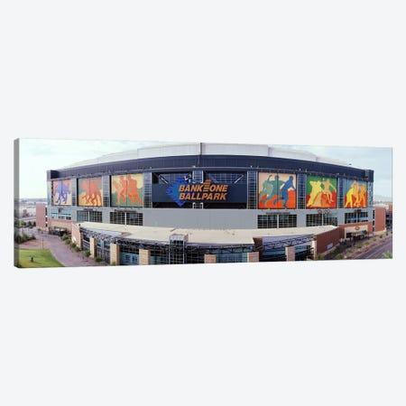 Bank One Ballpark Phoenix AZ Canvas Print #PIM3662} by Panoramic Images Canvas Artwork