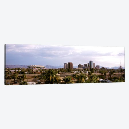 Downtown Skyline, Phoenix, Maricopa County, Arizona, USA Canvas Print #PIM3664} by Panoramic Images Art Print