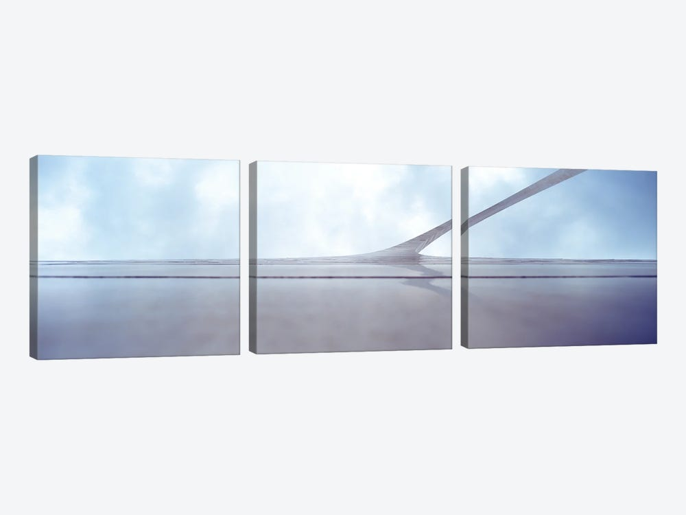 Low-Angle View, Gateway Arch, St. Louis, Missouri, USA by Panoramic Images 3-piece Canvas Print
