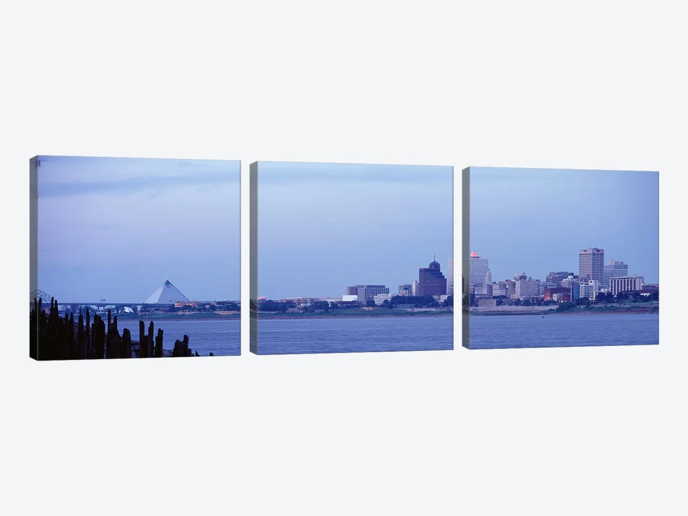 Memphis TN by Panoramic Images 3-piece Art Print