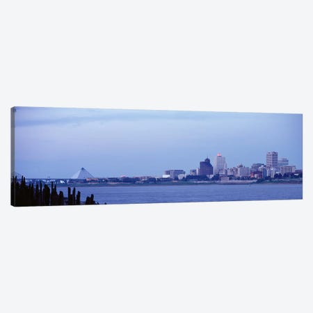 Memphis TN Canvas Print #PIM3669} by Panoramic Images Canvas Wall Art