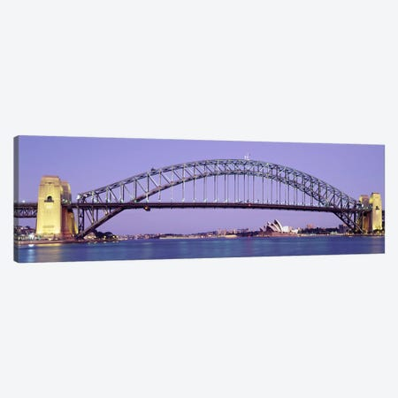 Sydney Harbor Bridge, Sydney, New South Wales, Australia Canvas Print #PIM3670} by Panoramic Images Canvas Art Print
