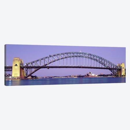 Sydney Harbor Bridge, Sydney, New South Wales, Australia Canvas Print #PIM3670} by Panoramic Images Canvas Art Print