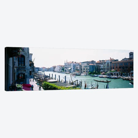 Waterfront Architecture, Grand Canal, Venice, Veneto Region, Italy Canvas Print #PIM3673} by Panoramic Images Canvas Art Print