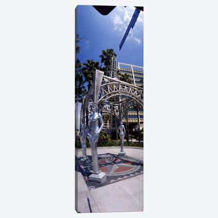 Hollywood Boulevard Los Angeles CA Canvas Print #PIM3678} by Panoramic Images Canvas Art Print