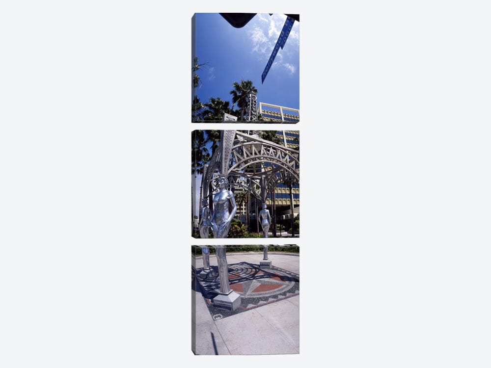 Hollywood Boulevard Los Angeles CA by Panoramic Images 3-piece Art Print