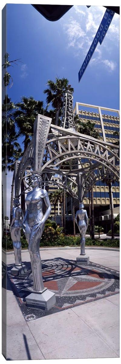 Hollywood Boulevard Los Angeles CA Canvas Art Print