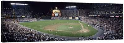 Baseball Game Camden Yards Baltimore MD Canvas Art Print