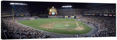 Baseball Game Camden Yards Baltimore MD Canvas Art Print