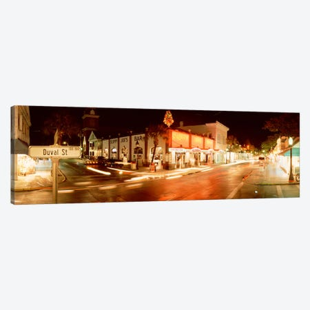 Sloppy Joe's Bar, Duval Street, Key West, Monroe County, Florida, USA Canvas Print #PIM3684} by Panoramic Images Canvas Print
