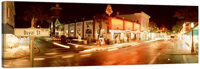 Sloppy Joe's Bar, Duval Street, Key West, Monroe County, Florida, USA Canvas Art Print