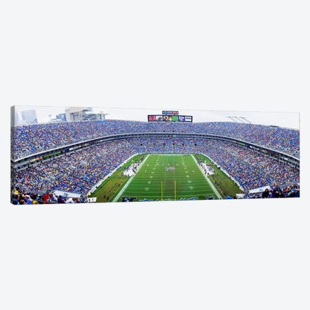 NFL Football, Ericsson Stadium, Charlotte, North Carolina, USA Canvas Print #PIM3685} by Panoramic Images Canvas Print