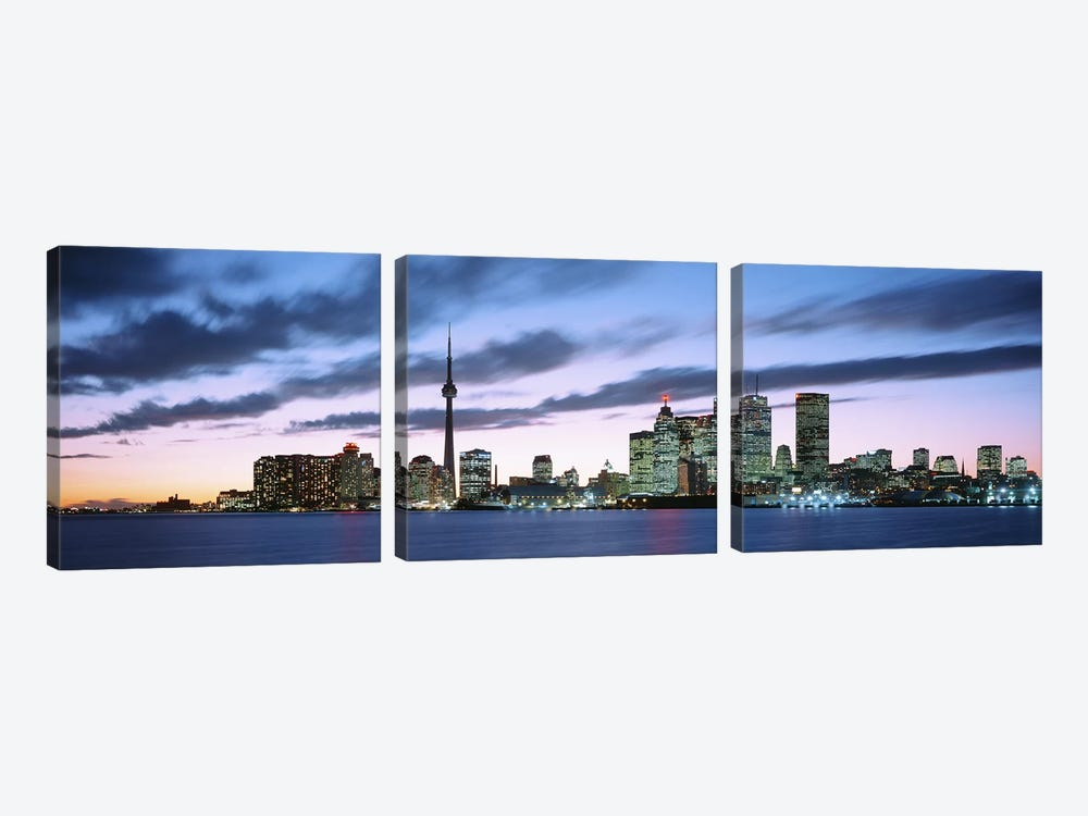 Toronto Ontario Canada by Panoramic Images 3-piece Art Print