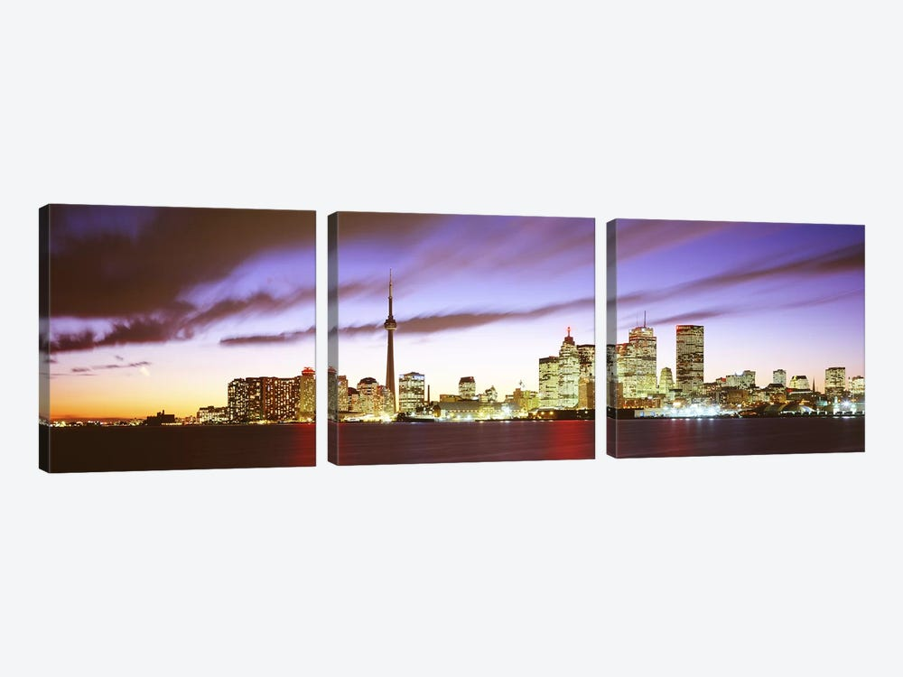 Toronto Ontario Canada by Panoramic Images 3-piece Canvas Wall Art