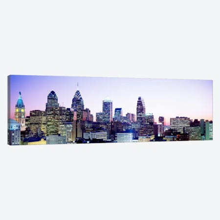 Philadelphia PA #3 Canvas Print #PIM3689} by Panoramic Images Canvas Wall Art