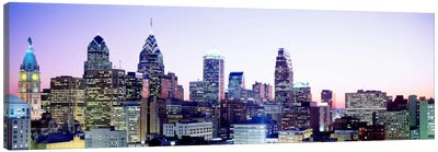 Philadelphia PA #3 Canvas Art Print