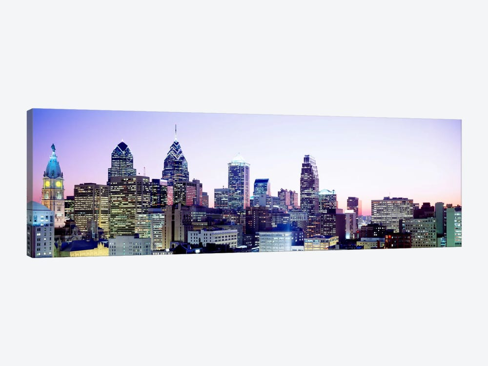Philadelphia PA #3 1-piece Canvas Print