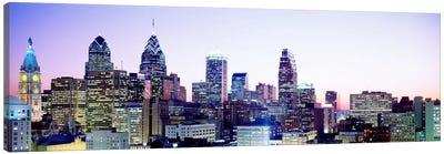 Philadelphia PA #3 Canvas Art Print