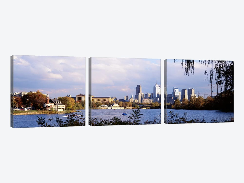 Philadelphia PA #4 by Panoramic Images 3-piece Art Print