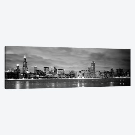 Buildings at the waterfront, Chicago, Illinois, USA Canvas Print #PIM3691} by Panoramic Images Canvas Art Print