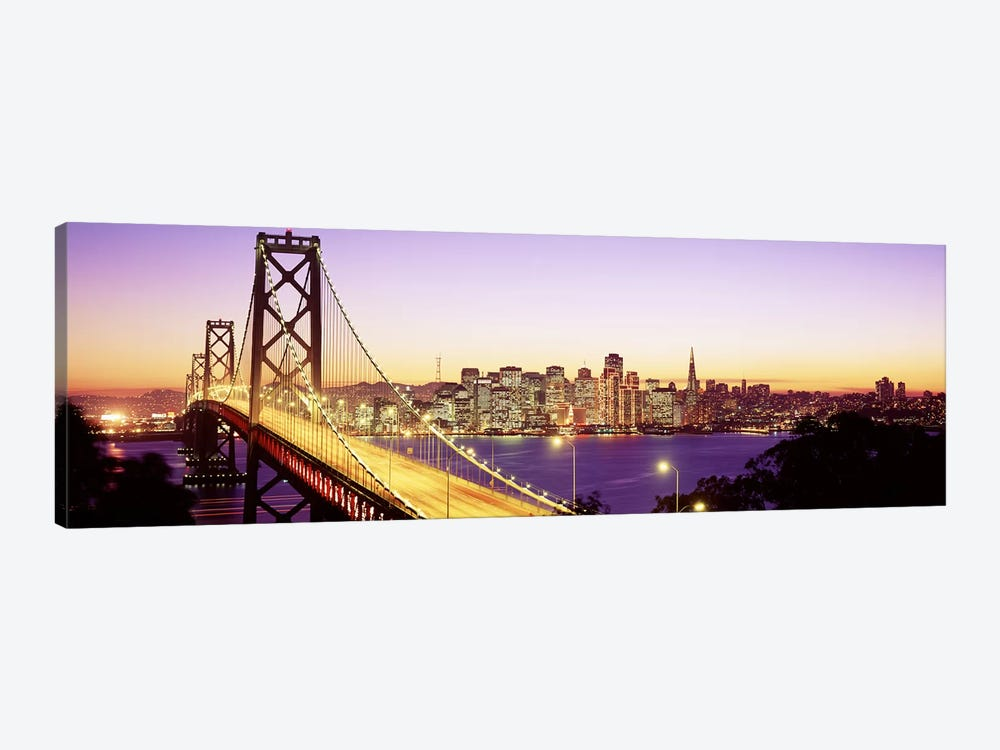 San Francisco CA by Panoramic Images 1-piece Canvas Artwork