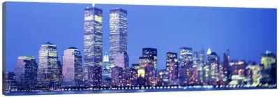 Evening, Lower Manhattan, NYC, New York City, New York State, USA Canvas Print #PIM3694
