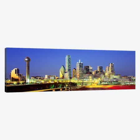 Dallas Texas USA #3 Canvas Print #PIM3696} by Panoramic Images Canvas Artwork