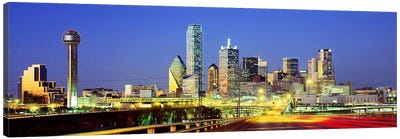 Dallas Texas USA #3 Canvas Art Print