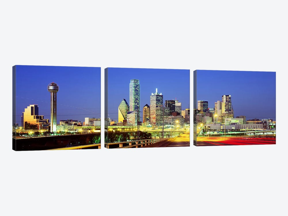 Dallas Texas USA #3 by Panoramic Images 3-piece Canvas Art Print