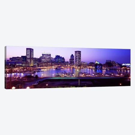 Inner HarborBaltimore, Maryland, USA Canvas Print #PIM3697} by Panoramic Images Canvas Artwork