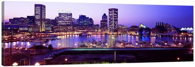 Inner HarborBaltimore, Maryland, USA Canvas Art Print