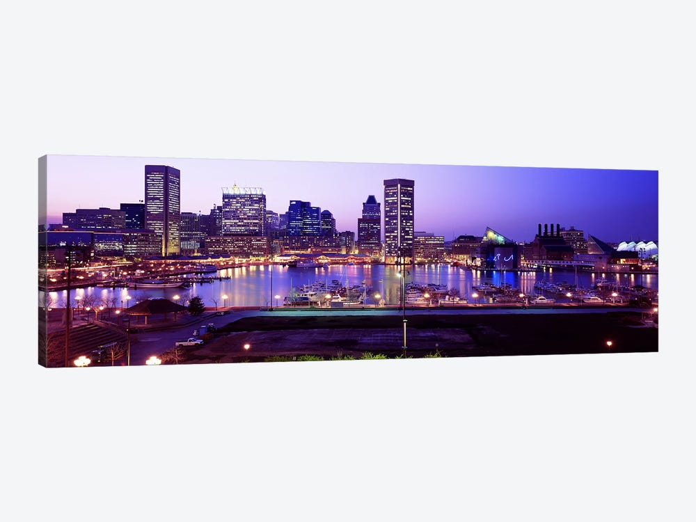 Inner HarborBaltimore, Maryland, USA by Panoramic Images 1-piece Canvas Artwork