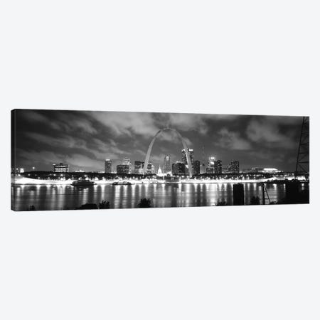 Evening St Louis MO Canvas Print #PIM3698} by Panoramic Images Canvas Print