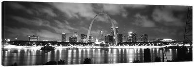 Evening St Louis MO Canvas Print #PIM3698