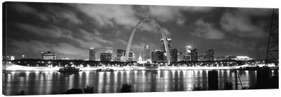 Evening St Louis MO Canvas Art Print