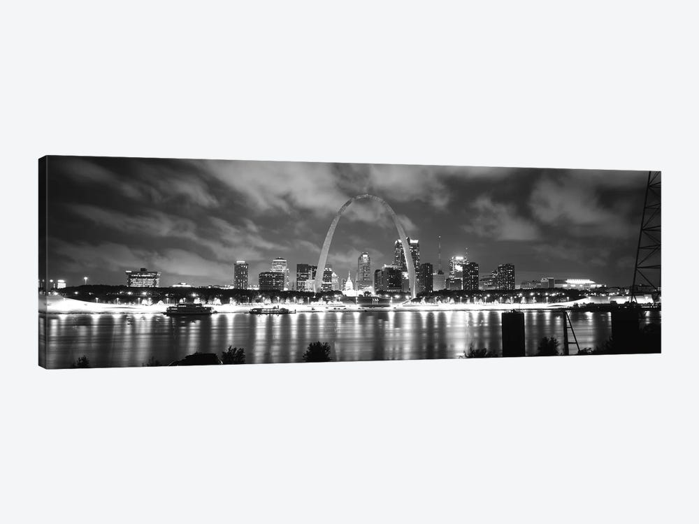 Evening St Louis MO by Panoramic Images 1-piece Art Print