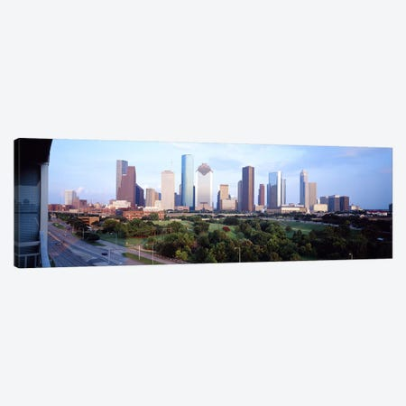 Houston TX Canvas Print #PIM3699} by Panoramic Images Canvas Art Print