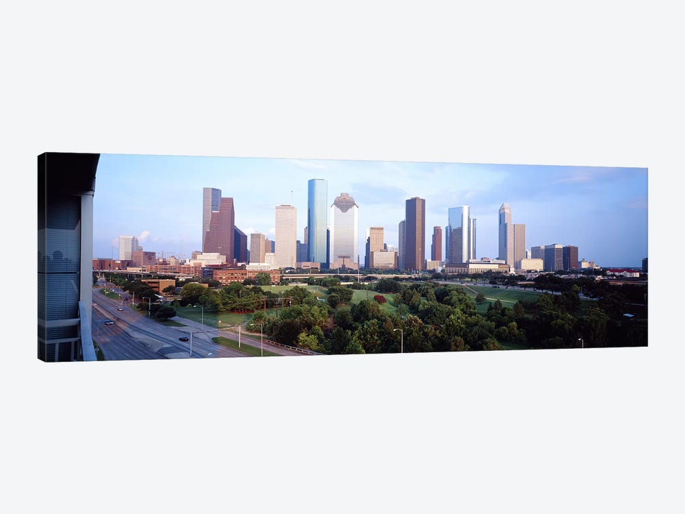 Houston TX by Panoramic Images 1-piece Canvas Artwork